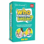 The Social Store - Who Knows Me Better?   Kids & Family Card Quiz Game   Fun & Educational Questions for Children & Families   Suitable For Boys & Girls 5+ Year Olds to Adult   Family Friendly: Amazon.co.uk: Toys & Games