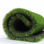 Synthetic Artificial Grass Turf Lawn Area Rug 35mm Pile Height Pet Pad Mat Garden Carpet Doormat Rubber Backed with Drainage Holes