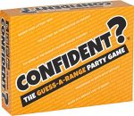 CONFIDENT? Board Game: The Hit Family Party Game - A Quiz Game with a Brilliant Twist - Board Games for Adults